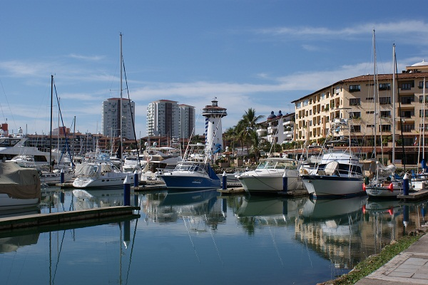 Partial view of Marina Vallarta - Photo by Harvest