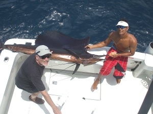 Fishing Report - Discovery, Thomas Harris, 10hrs, Corb. Sail, Marlin